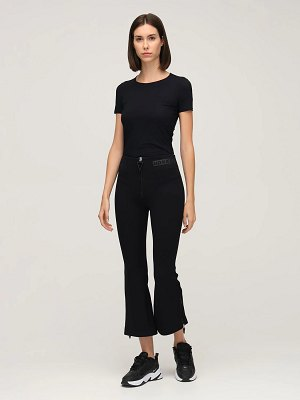 NO KA'OI Horizon high waist flared pants