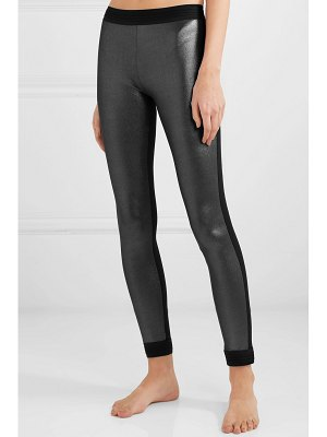 NO KA'OI mahina kala metallic stretch leggings