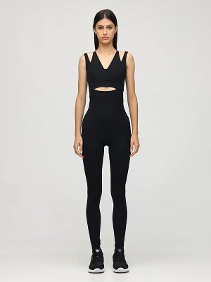 NO KA'OI Outline cutout jumpsuit