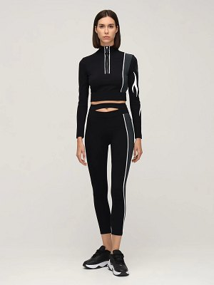 NO KA'OI Outline high waist 7/8 leggings