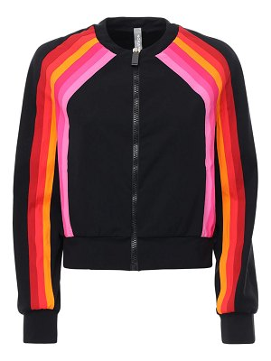 NO KA'OI Sunlight crop zip-up jacket