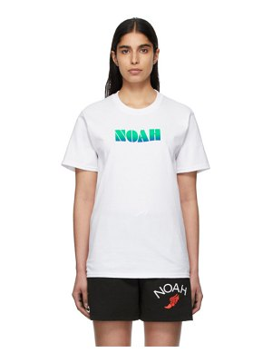 Noah Nyc gradient logo t-shirt