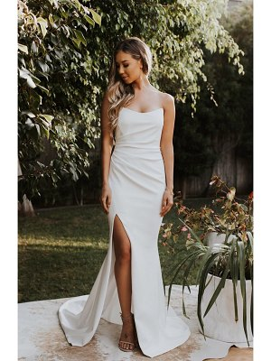 Noel and Jean by Katie May divinity strapless trumpet wedding dress