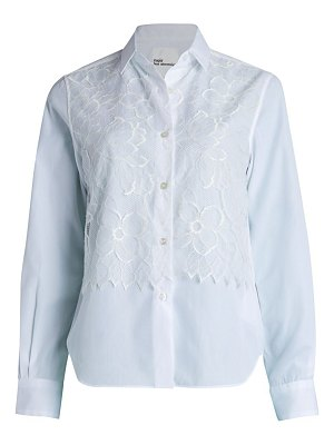 noir kei ninomiya lace button down shirt