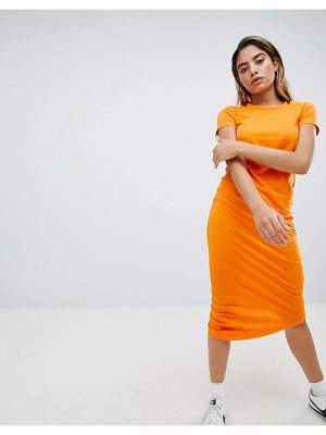 Noisy May Asymmetric Jersey Dress