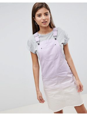 Noisy May ombre denim dress