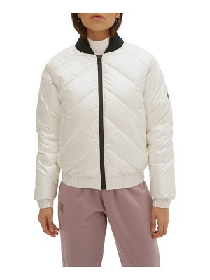 NOIZE ultra lightweight water resistant quilted jacket