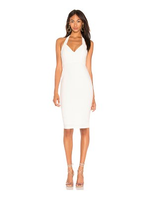 Nookie magic halter midi dress