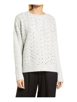 Nordstrom beaded cable sweater