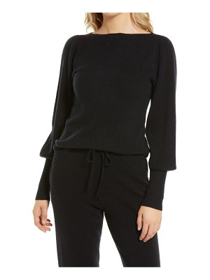 Nordstrom cashmere puff sleeve sweater
