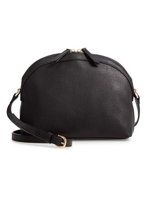 Nordstrom half moon leather crossbody bag