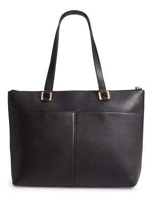 Nordstrom lexa pebbled leather tote