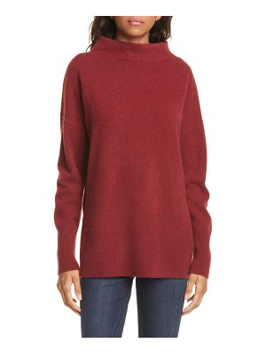 Nordstrom Signature funnel neck cashmere sweater