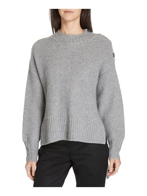 Nordstrom Signature high/low cashmere pullover