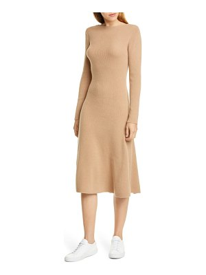 Nordstrom Signature long sleeve cashmere sweater dress