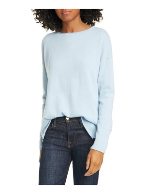 Nordstrom Signature long sleeve cashmere tunic sweater