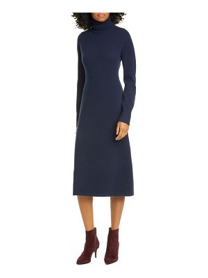 Nordstrom Signature long sleeve wool & cashmere blend sweater dress