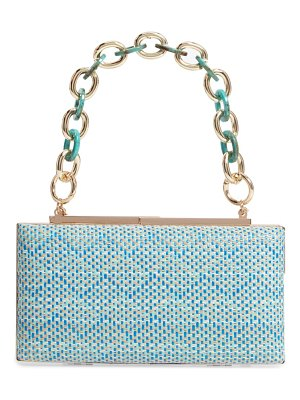 Nordstrom woven minaudiere