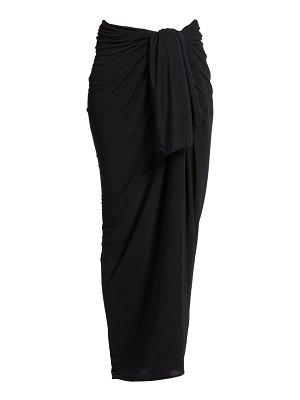 Norma Kamali ernie multi-way oversized sarong