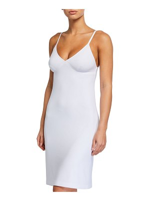 Norma Kamali Knee-Length Slip Dress