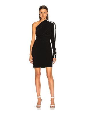 Norma Kamali Side Stripe All In One Dress