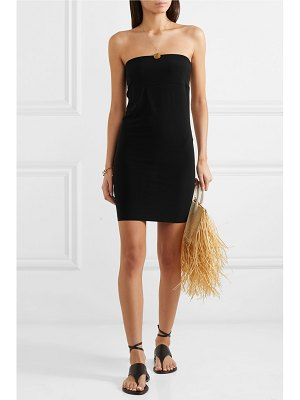 Norma Kamali stretch-jersey mini dress