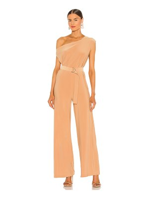 Norma Kamali x revolve drop shoulder jumpsuit