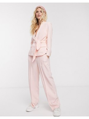 Notes Du Nord oprah tailored pants in soft pink