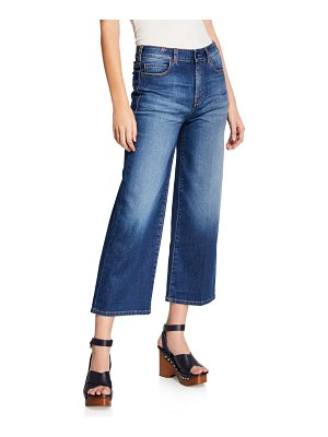 Atelier Notify Silene High-Rise Cropped Wide-Leg Jeans
