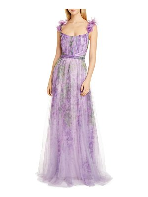 Notte by Marchesa a-line tulle gown