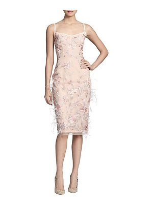 Notte by Marchesa embroidered corset sheath dress