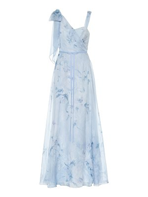 Notte by Marchesa floral chiffon gown