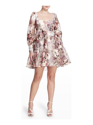 Notte by Marchesa Floral-Print Tiered Cocktail Dress