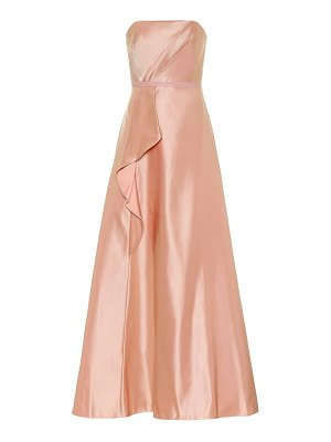 Notte by Marchesa satin bustier gown