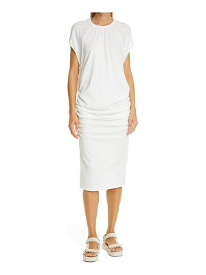 NSF Clothing cole shirred jersey dress