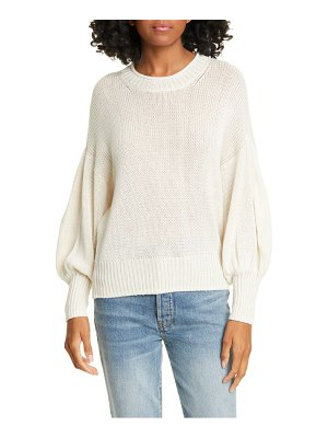 NSF Clothing elsie cotton & cashmere sweater