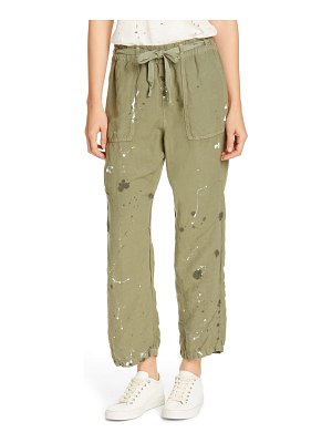 NSF Clothing rao cinched waist pull-on pants