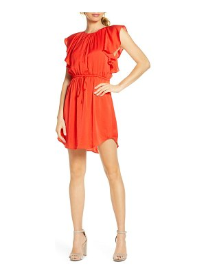 NSR ruffled minidress