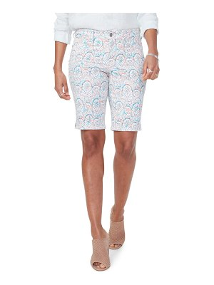 NYDJ briella print shorts