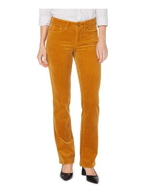 NYDJ marilyn double snap waist straight leg jeans