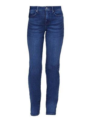 NYDJ marilyn high-rise straight jeans