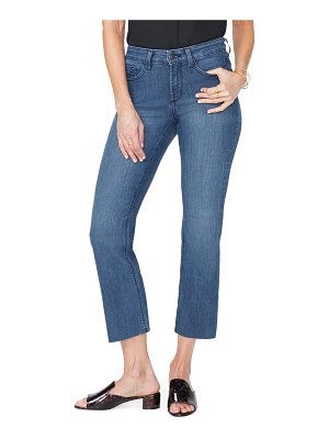NYDJ marilyn raw hem ankle straight leg jeans