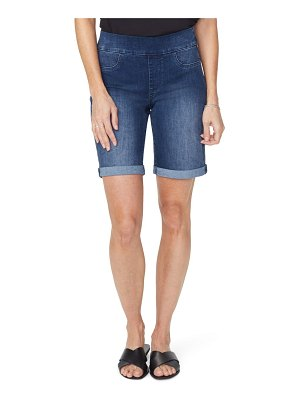NYDJ roll cuff pull-on denim shorts