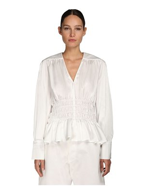 NYNNE Gathered top w/fitted waist