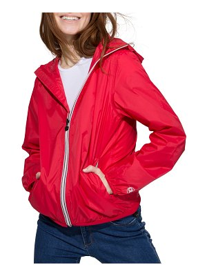 O8 LIFESTYLE Sloane Full-Zip Packable Rain Jacket