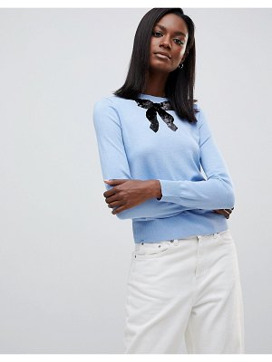 Oasis Bow Knit Sweater