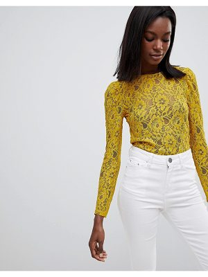 Oasis Lace Long Sleeve Top