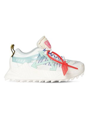 OFF-WHITE 35mm odsy-1000 mesh & leather sneakers