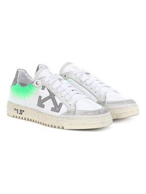 OFF-WHITE arrow 2.0 leather sneakers