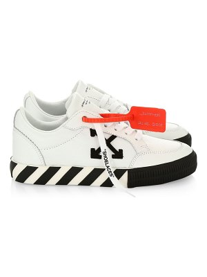 OFF-WHITE arrow low-top leather sneakers